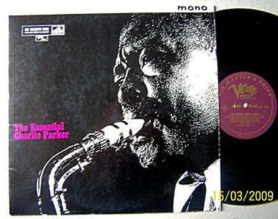 Charlie Parker - The Essential - 1961 UK Master Voice Verve-CLP1538-Mono  LP vg+