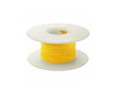 30 Awg Kynar Wire Wrap Ul1423 Solid Wiremod Type 100 Foot Spools Yellow New