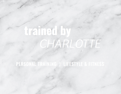 Trained By Charlotte Personal Training