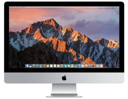 27 inch iMac 5k retina display******2017