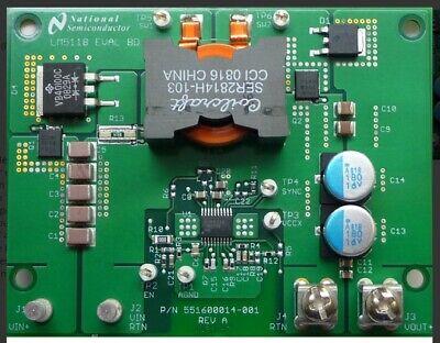 Lm5118 Eval - Evaluation Development Pcb Dcdc Converter 5-75v In 12v 3a Output