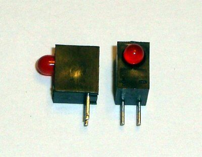 Right Angle Red Led 3mm T1 Sunled Lot Of 20