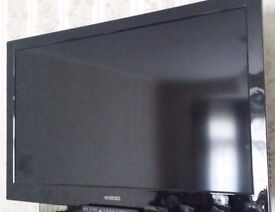 CURTIS 39 INCH 1080p TV, Built in Digital, LCD, NEW REMOTE. NO STAND