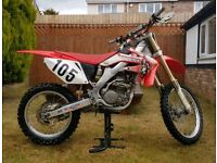 Honda CRF 250 2008 Motocross Dirt bike