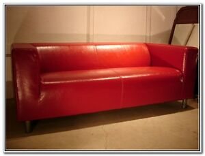 mint condition ikea love seat and extra cover
