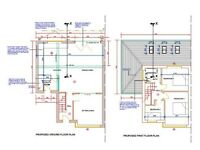 Planning Applications, Building Regulations, Floor Plans & other Architectural services. North West