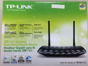TP-Link AC750 Dual Band Wireless AC Gigabit Router 2.4GHz 300Mbp