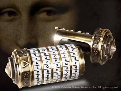 The Da Vinci Code Prop Replica Mini Cryptex Noble
