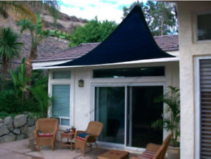 Toile triangulaire pour patio /triangle Shade Sail,