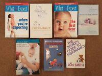 Pregnancy Books & New born Baby (1st yr) books for Men & Women - £3 each or £5 for 2 books