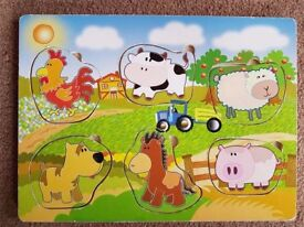 Farmyard Animal puzzle - £3