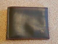 Dark Brown Men's Wallet, Brand New & Unused - £5