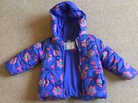 12-18 month Mothercare baby coat - £10