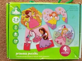 Princess Puzzles - Four Puzzles in one box - £3