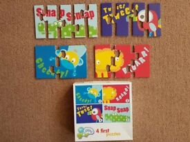 Four First Puzzles in one box (18mth+) - £3