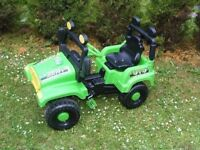CAN DELIVER - CHILDS JEEP IN VGC SUITABLE FOR 3 - 5 YEARS OLD CHILDS BETTER THAN BIKE
