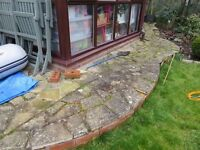 CRAZY PAVING FREE TO NEW HOME