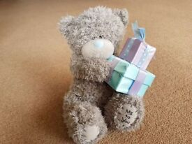 Cuddly Soft Bear with presents - £2