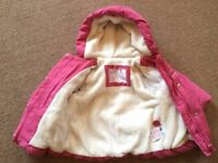Winter Mothercare coat (3-6 months) - £8