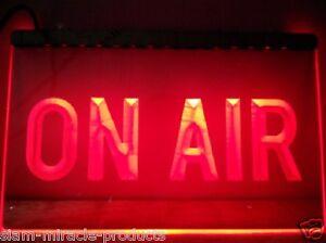 On Air Recording Studio Bar Pub Club NR Neon Light Sign Satisfaction Guarantee A