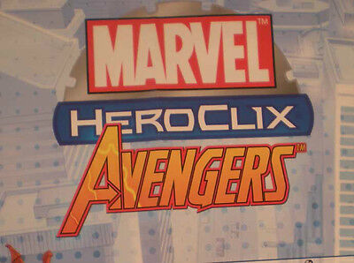 HEROCLIX HAMMER OF THOR War Machine 200 AVENGERS Iron Man 002 (Ultimates)](Ultimate Thor Hammer)