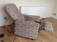 Electric recliner armchair. Free local delivery
