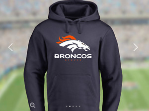 BRAND NEW Bronco's Pullover Sweater