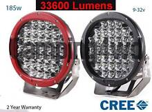 """PAIR 9"""" 185W LED Spotlights and 2 Year Warranty 12v 24v spot Craigie Joondalup Area Preview"""