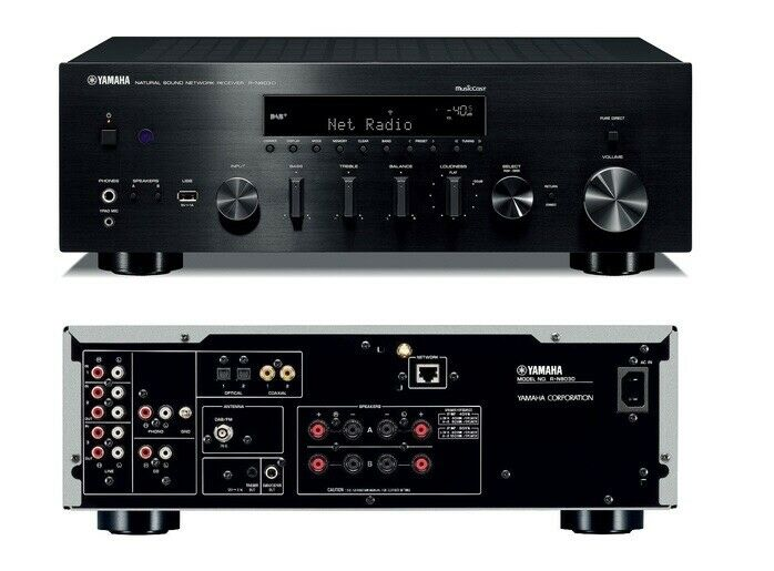 New Yamaha R-N803BL Network Receiver with MusicCast - Excellent Receiver