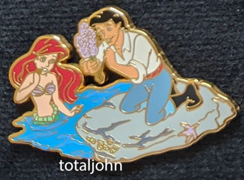 54385 DisneyShopping.com - May Flowers Mystery Pin Ariel & Eric LE 200