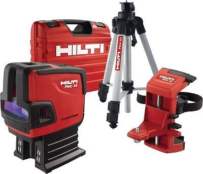 Hilti Laser Level Pmc-46 Full Solution Brand New 2 Year Hilti Warranty