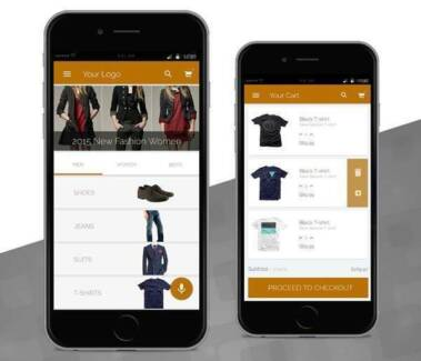 I will design and develop excellent ecommerce apps