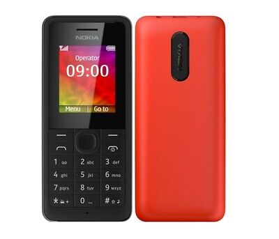 New Nokia 106 Unlocked Mobile Phone Various Colour Unlocked Sim Free