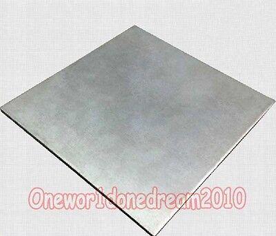 Titanium Ti Grade 2 Gr.2 Gr2 Astm B265 Plate Sheet 1mm X 150mm X 300mm 6 X 12