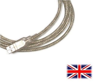 SILVER USB PC CABLE LEAD CORD FOR Native Instruments Traktor Kontrol Z1