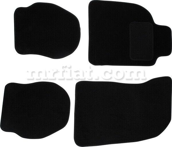 For Porsche 911/964/993 Floor Mat Set 4 Pcs Black 1988-97 New