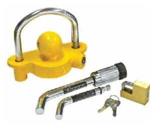 Trailer lock couplers