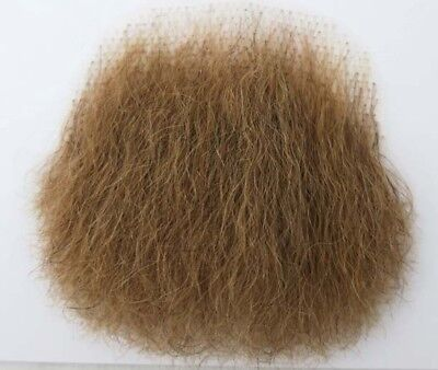 MakupArtist Blond Naturally Shaped Human Hair Merkin Female Male Pubic - Halloween Merkin