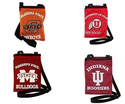 New Ncaa Game Day Purse (Brand New NWT NCAA Game Day Pouch Jersey Purse Littlearth )