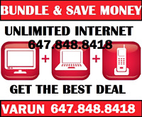 INTERNET , UNLIMITED HIGH SPEED INTERNET AND CABLE TV , INTERNET