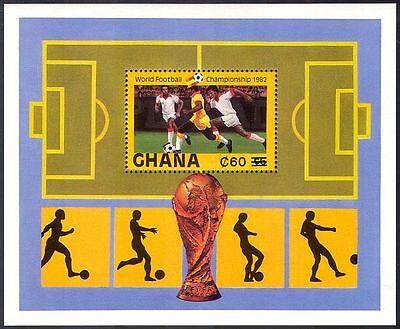 Ghana 1984 (1982 surch) World Cup/Football/Sports/Soccer/Games 1v m/s (b7569b)