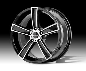 MOMO-RIMS-ALLOY-ROAD-WHEELS-STRIKE-BLACK-19-INCH-5-120-HOLDEN-COMMODORE