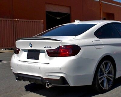 BMW 4 Series F32 M Performance Carbon Fibre Boot Spoiler tilted
