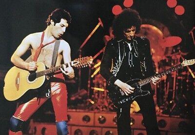 Vintage Poster Queen Freddie Mercury Pace International 1980 Original pin-up 70s