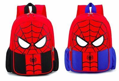 Spiderman Rucksack Marvel Tasche Spider Man Wasserabweisend Ranzen Schule Bag