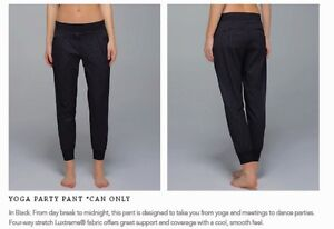 Lulu yoga party pant BNWT