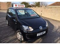 VOLKSWAGEN UP 1.0 2013 5 DOOR £20 YEARLY ROAD TAX FINANCE FROM £99 p/m £4495