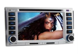 iPod DVD Satnav For a Santa Fe 2006 to 2012 ELANTRA 2000/2006