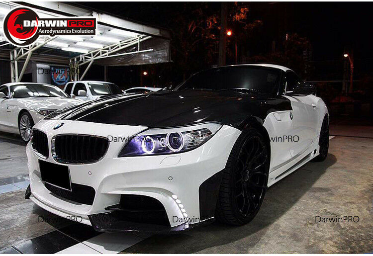 2009-2015 Bmw Z4 E89 Rw Style Front Bumper Body Kit With Drl Lights