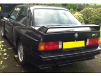 BMW E30 M3 --- Wanted